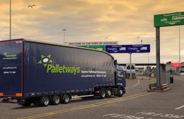 International Pallet Delivery